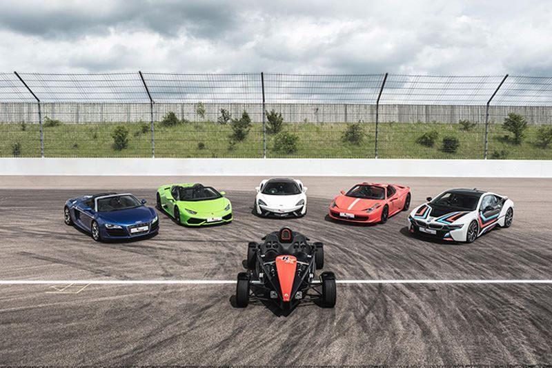 Ultimate All Inclusive 6 Supercar Driving Experience