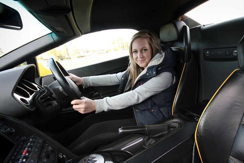 Junior Supercar Driving Experience Package